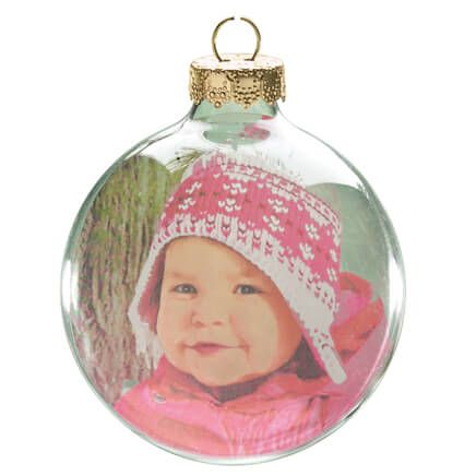 Glass Ball Photo Ornament-314261