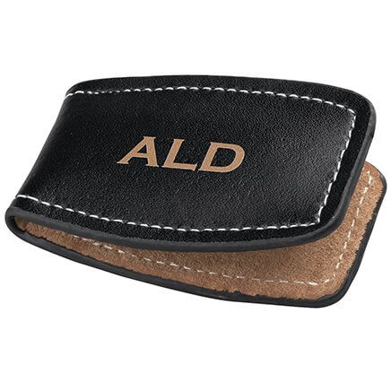 Personalized Leather Money Clip-314592