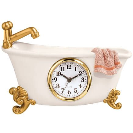Claw Foot Style Bathtub Clock-316079
