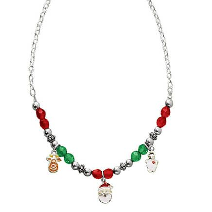 Child's Christmas Charm Necklace-316608