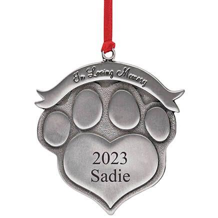 Personalized Pet Memorial Ornament-316626