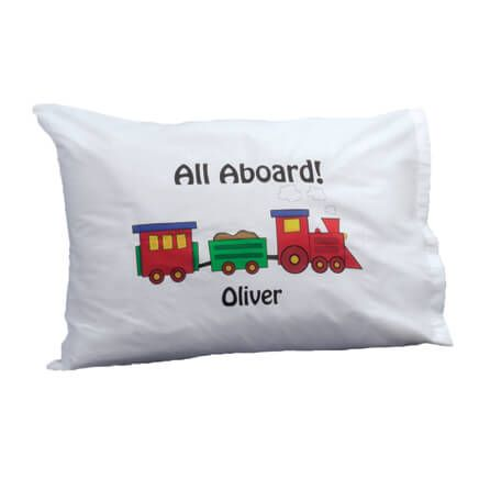 Personalized Train Pillowcase-316813