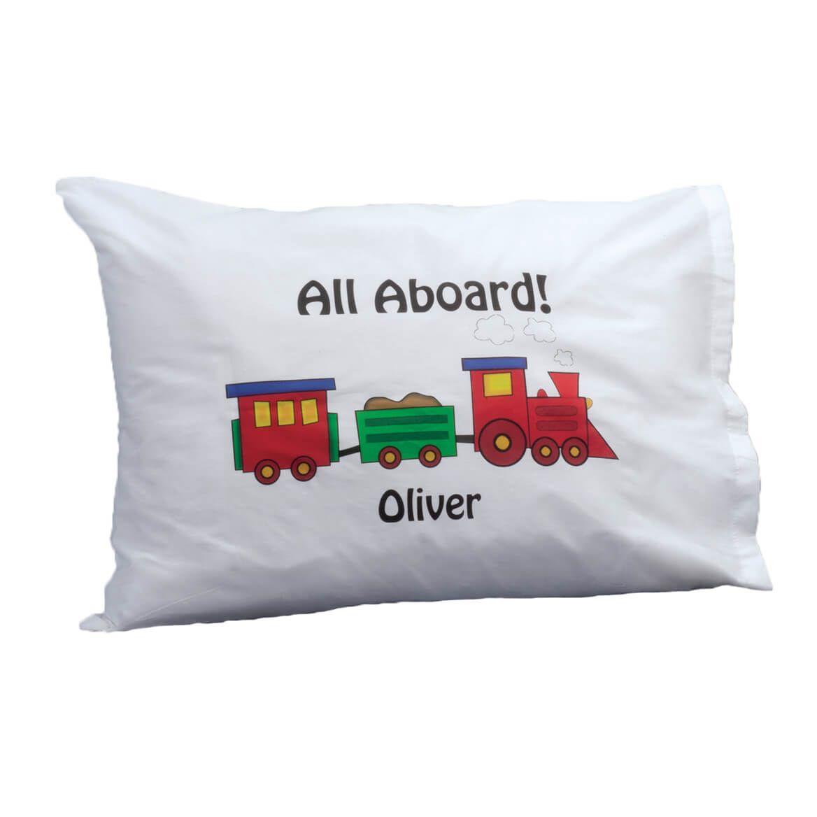 Personalized Train Pillowcase-316813