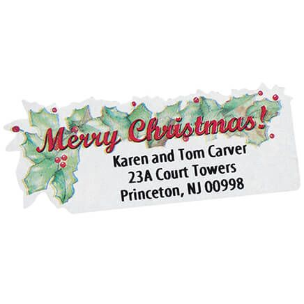 Merry Christmas Labels - Set of 250-325250
