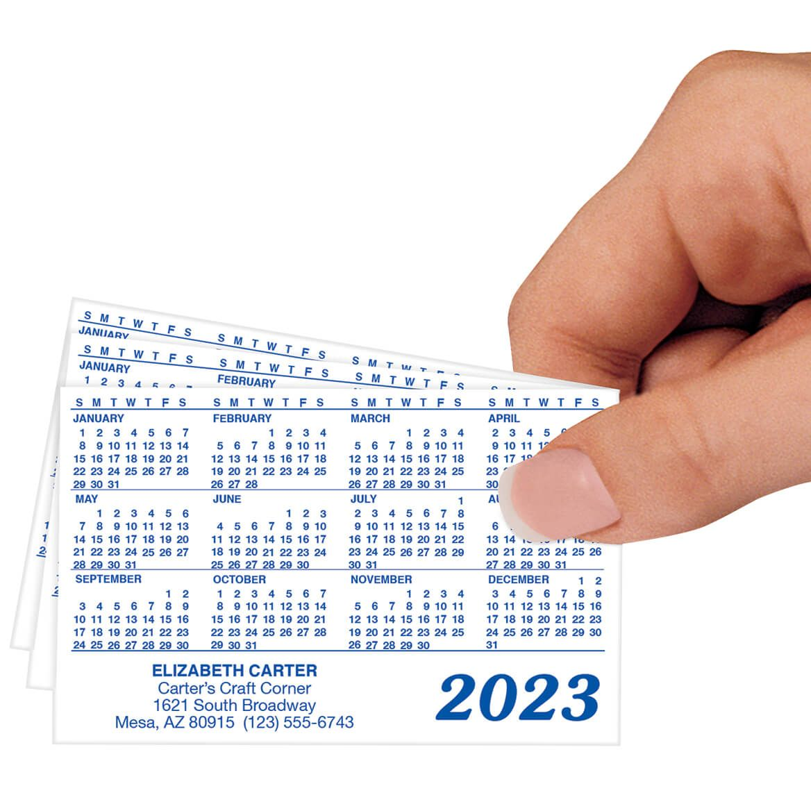 Personalized Tear Proof  Calendars Set of 48-326099