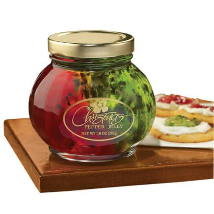 Christmas Pepper Jelly Jar 10 oz-327296