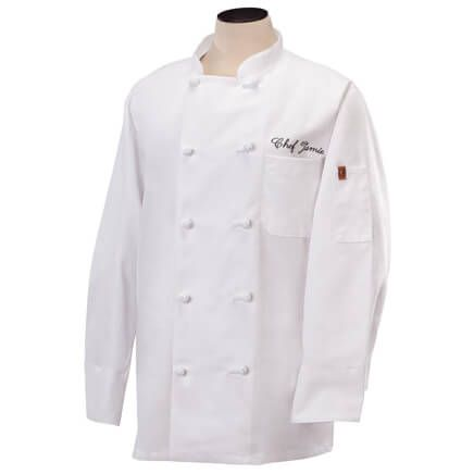 Personalized Chef Jacket White-328131