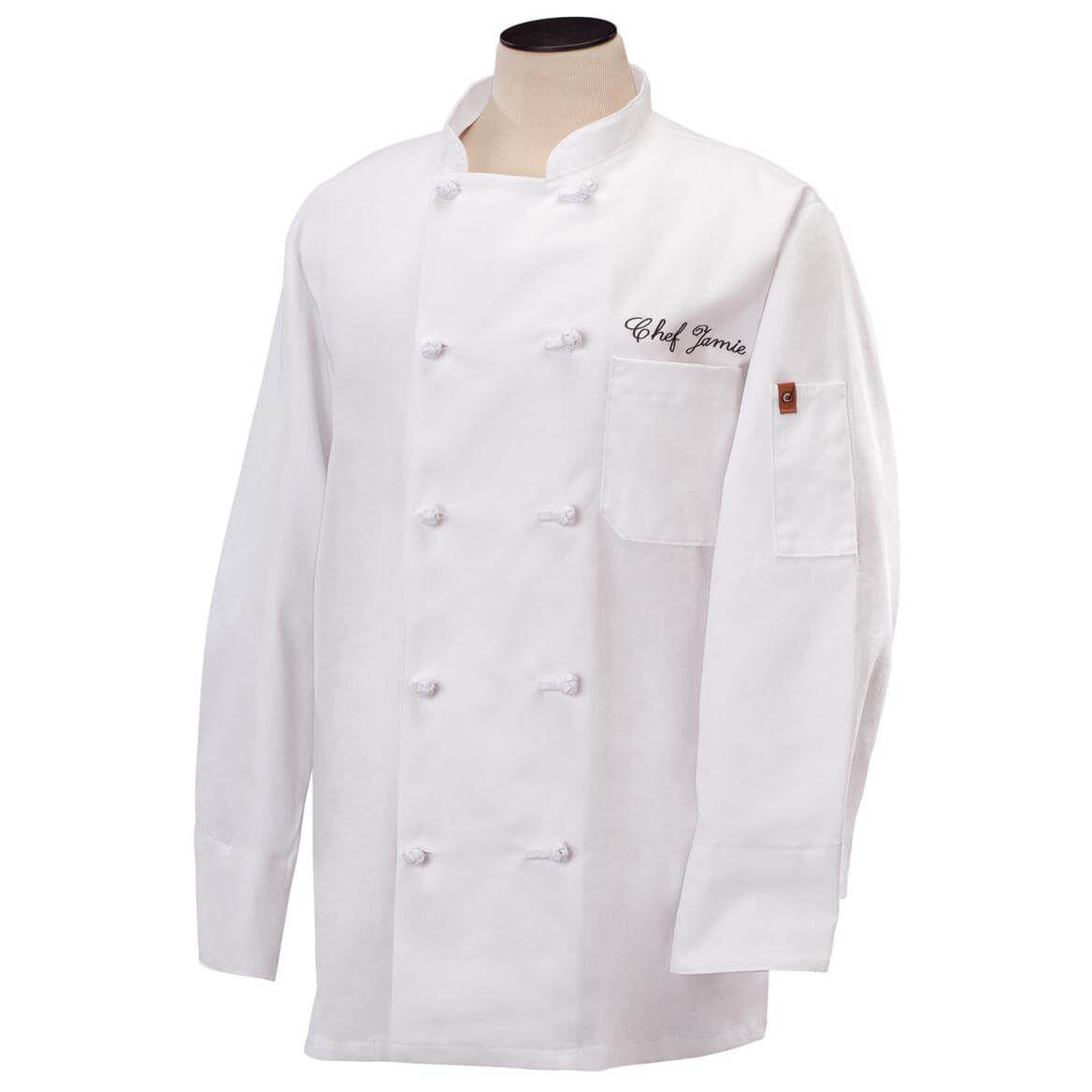 Personalized Chef Jacket White-328131