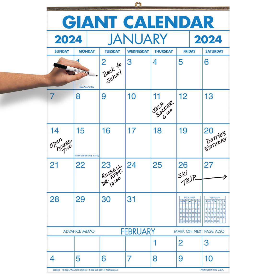 1 Year Giant Calendar-333868