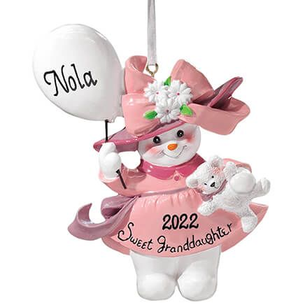 Personalized Sweet Granddaughter Ornament-334681