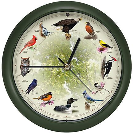 Singing Bird Clock-337984
