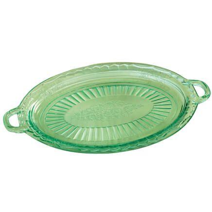 Classic Green Serving Platter-338785
