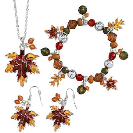 Autumn Leaf Jewelry - Set Of 3-339001
