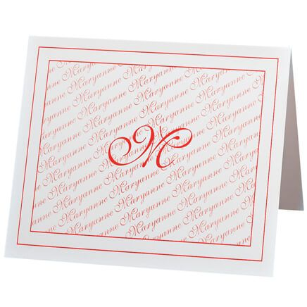 Monogrammed Note Cards-339744