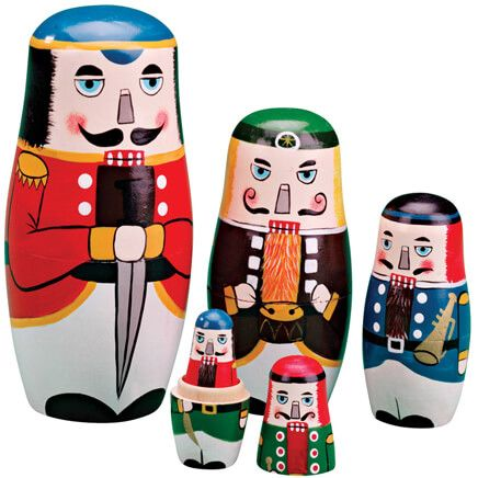 Nutcracker Nesting Dolls-343063