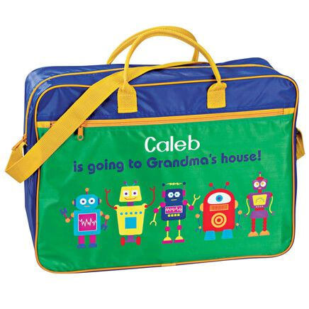 Personalized Boys Going To Grandma's Tote-343426