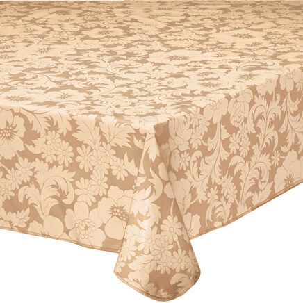 Bordeaux Floral Vinyl Tablecover-344552