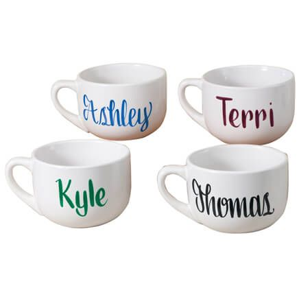 Personalized Soup Mug, 22 oz-345434