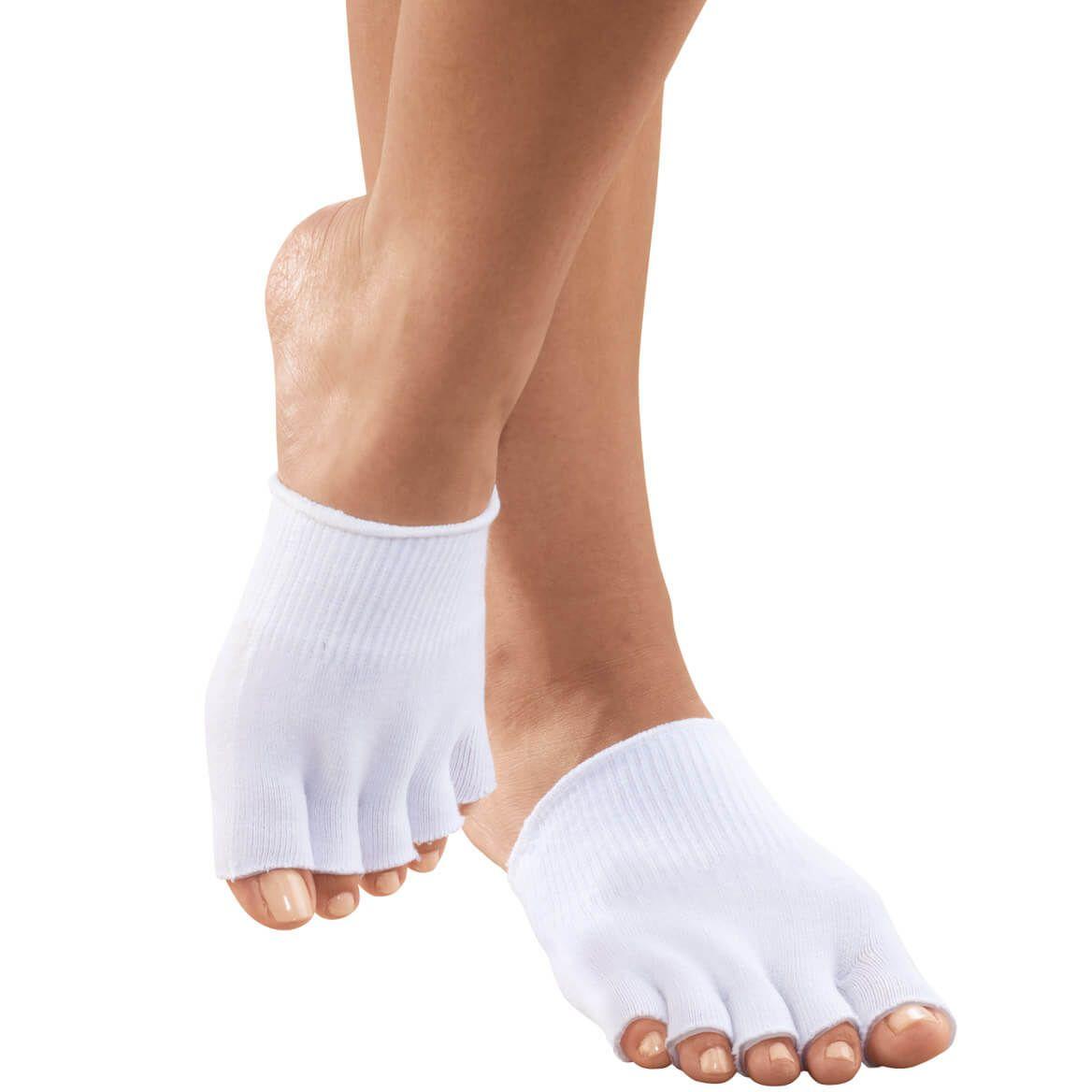 Silver Steps™ Open Toe Gel Socks-345550