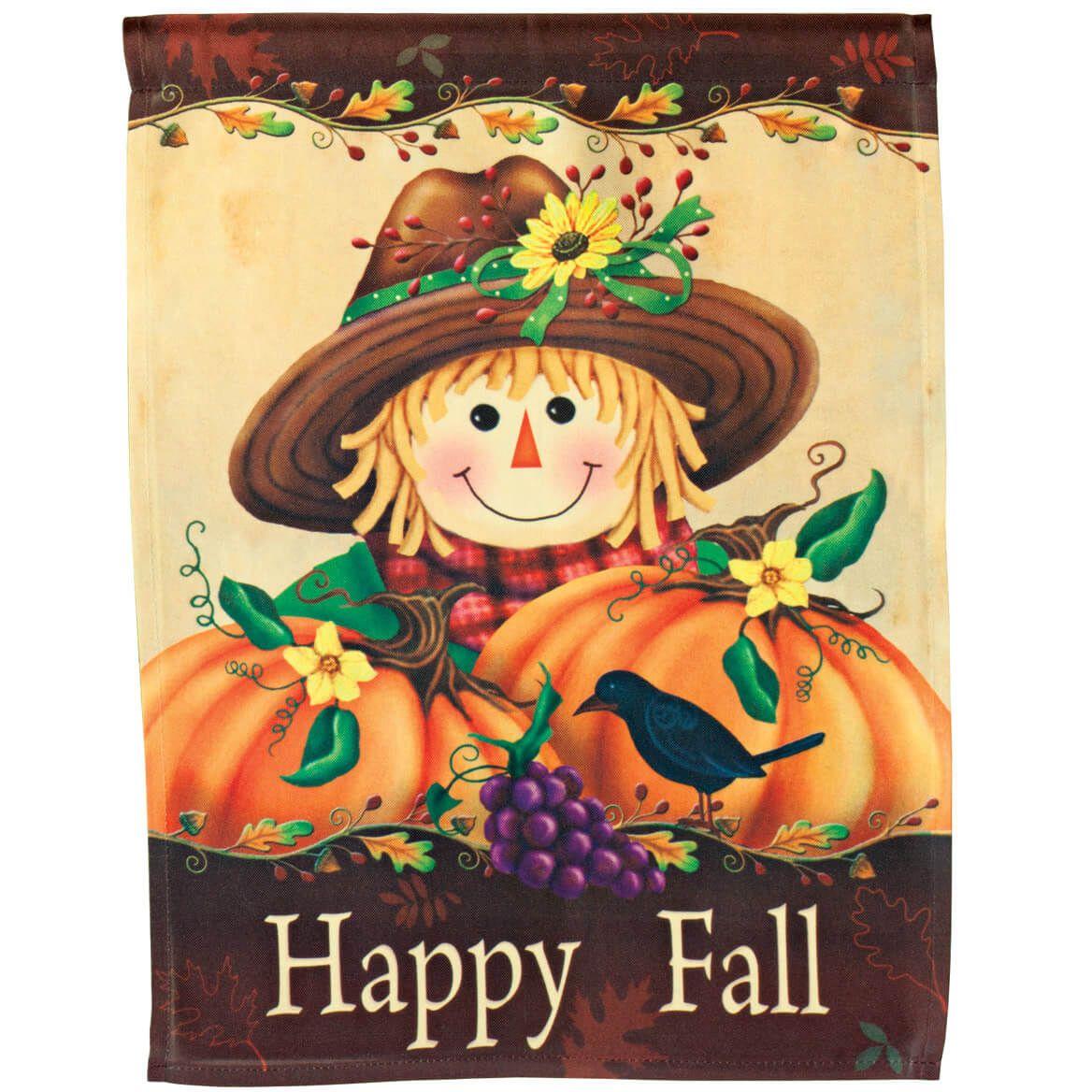Happy Fall Garden Flag-345931