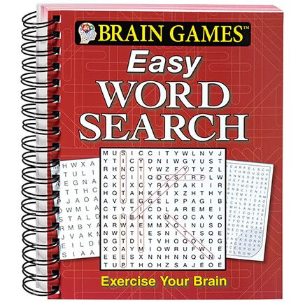 Brain Games™ Easy Word Search-346305