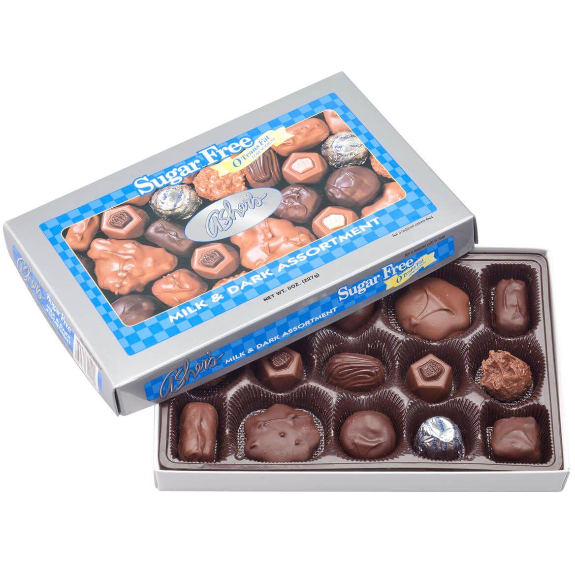 Sugar Free Milk and Dark Assortment Box, 8 oz.-346732