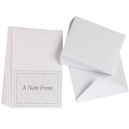 "Personalized ""A Note From"" Cards - Set Of 25-346846"