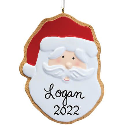 Personalized Santa Christmas Cookie Ornament-347625