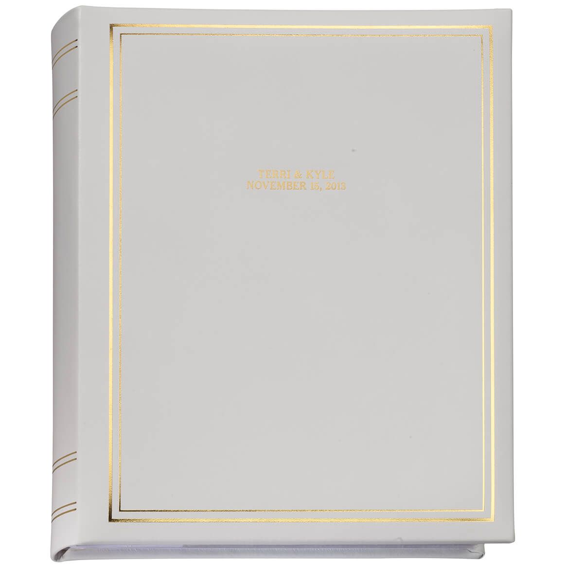 Ultimate Wedding Leather 3 Ring Album  Personalized-348138