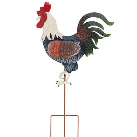Rooster Metal Garden Stake by Fox River™ Creations-348356