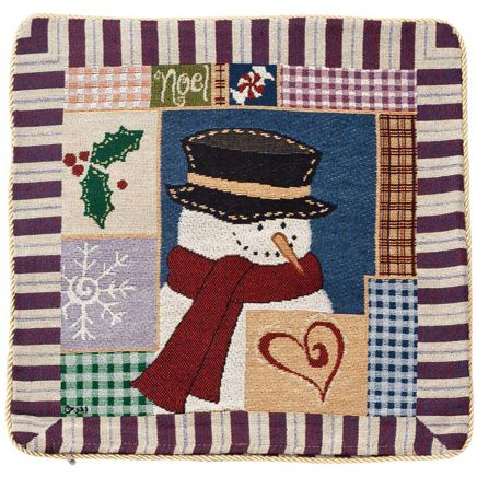Snowman Pillow Cover-349124