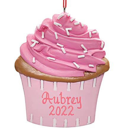 Personalized Cupcake Ornament-349263