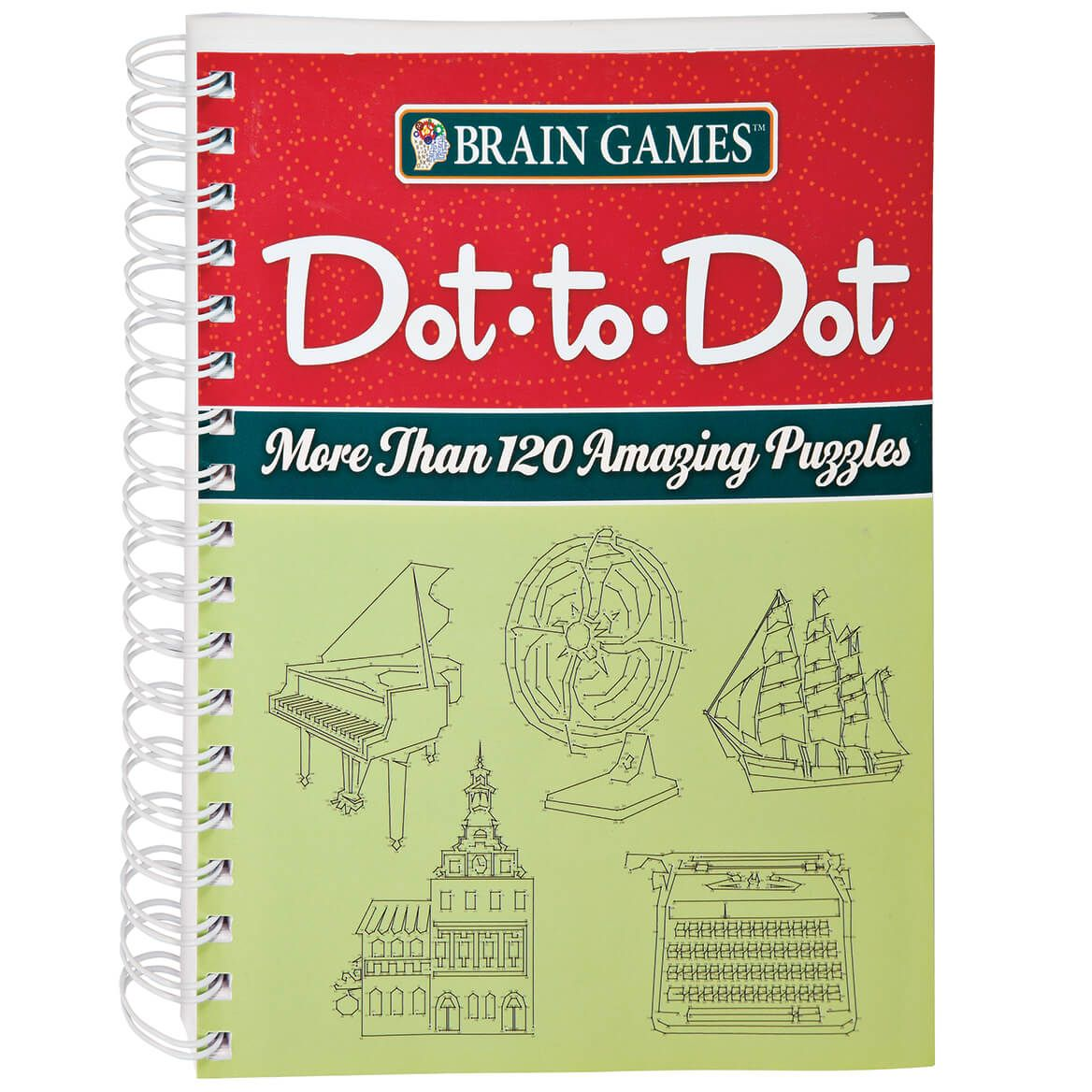 Brain Games® Dot to Dot Puzzle Book-349359