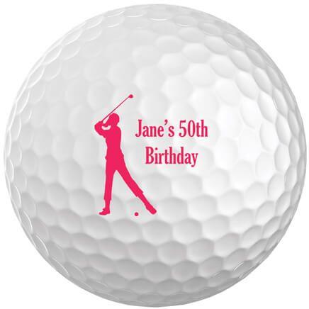 Personalized Women's Golf Balls Set of 6-349697
