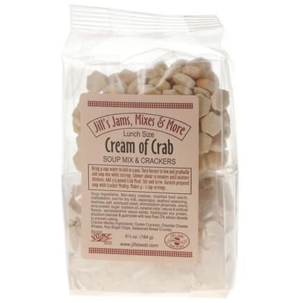 Luncheon Cream of Crab Soup Mix and Crackers-349913