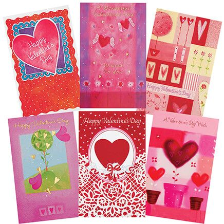 Valentine's Day Card Assortment Set of 20-350352