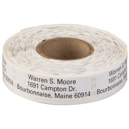 Large Print Self-Stick Address Labels, Roll of 500-350736