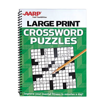 AARP Large Print Crossword Puzzles-351094