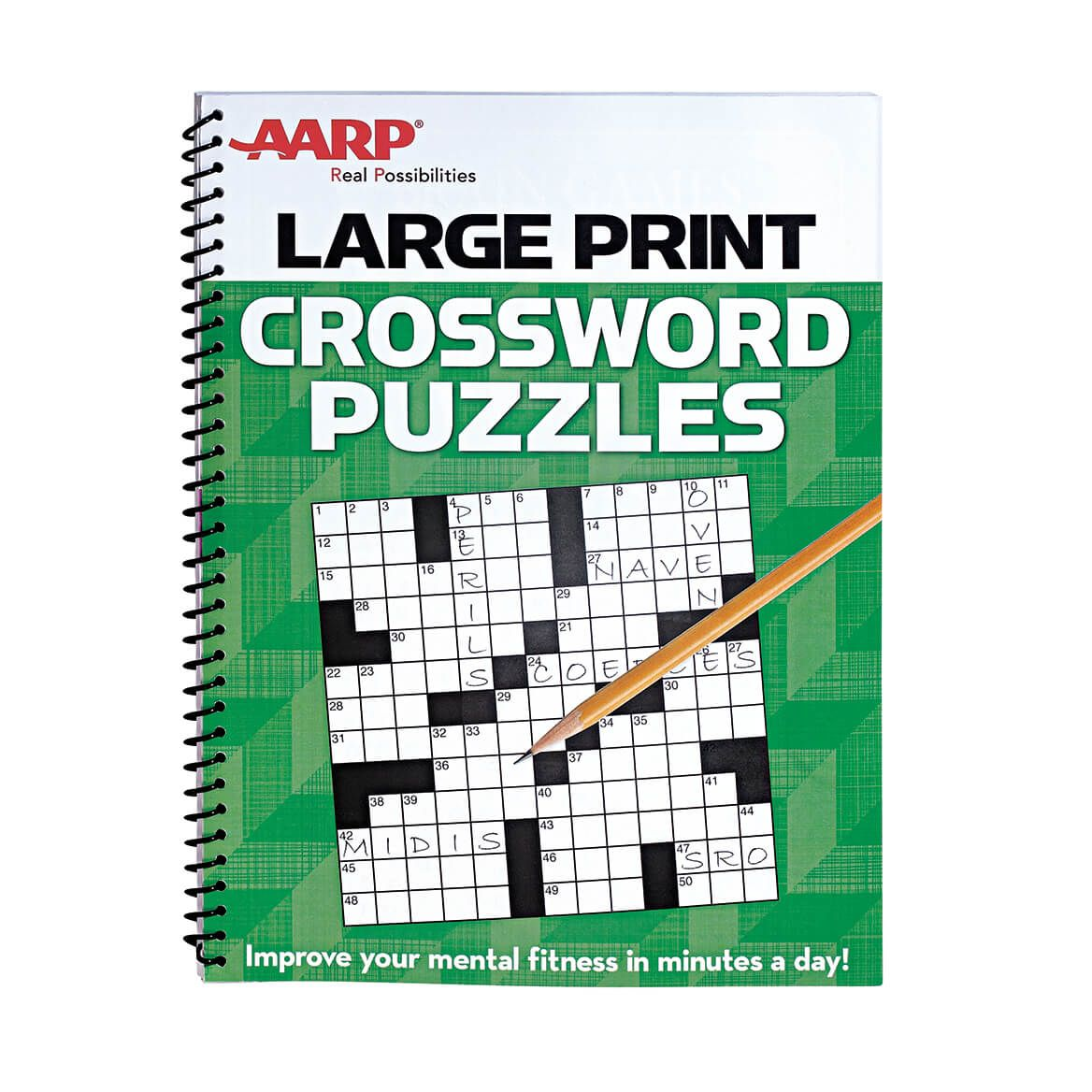 AARP Large Print Crossword Puzzles-351094