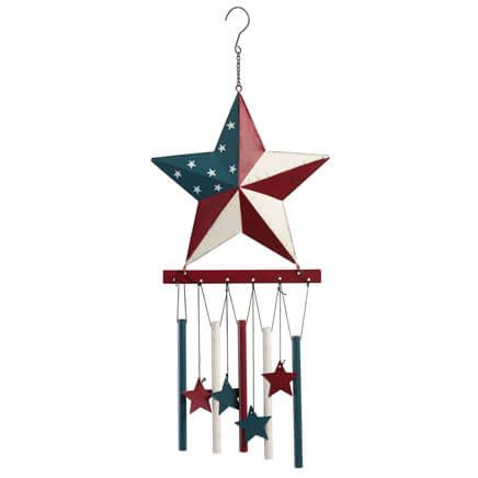 Barn Star Wind Chime by Fox River™ Creations-351101