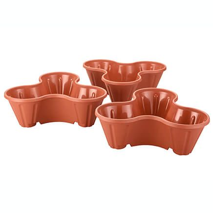 Stackable Planters, Set of 3-351187