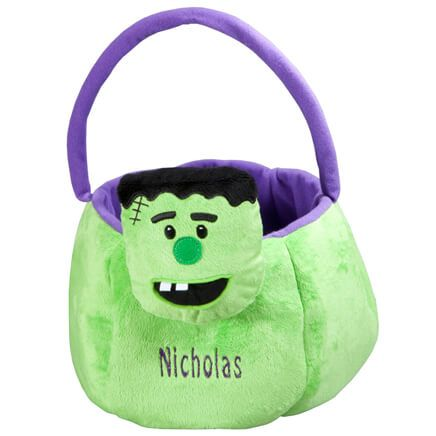 Personalized Frankenstein Trick or Treat Bag-351270