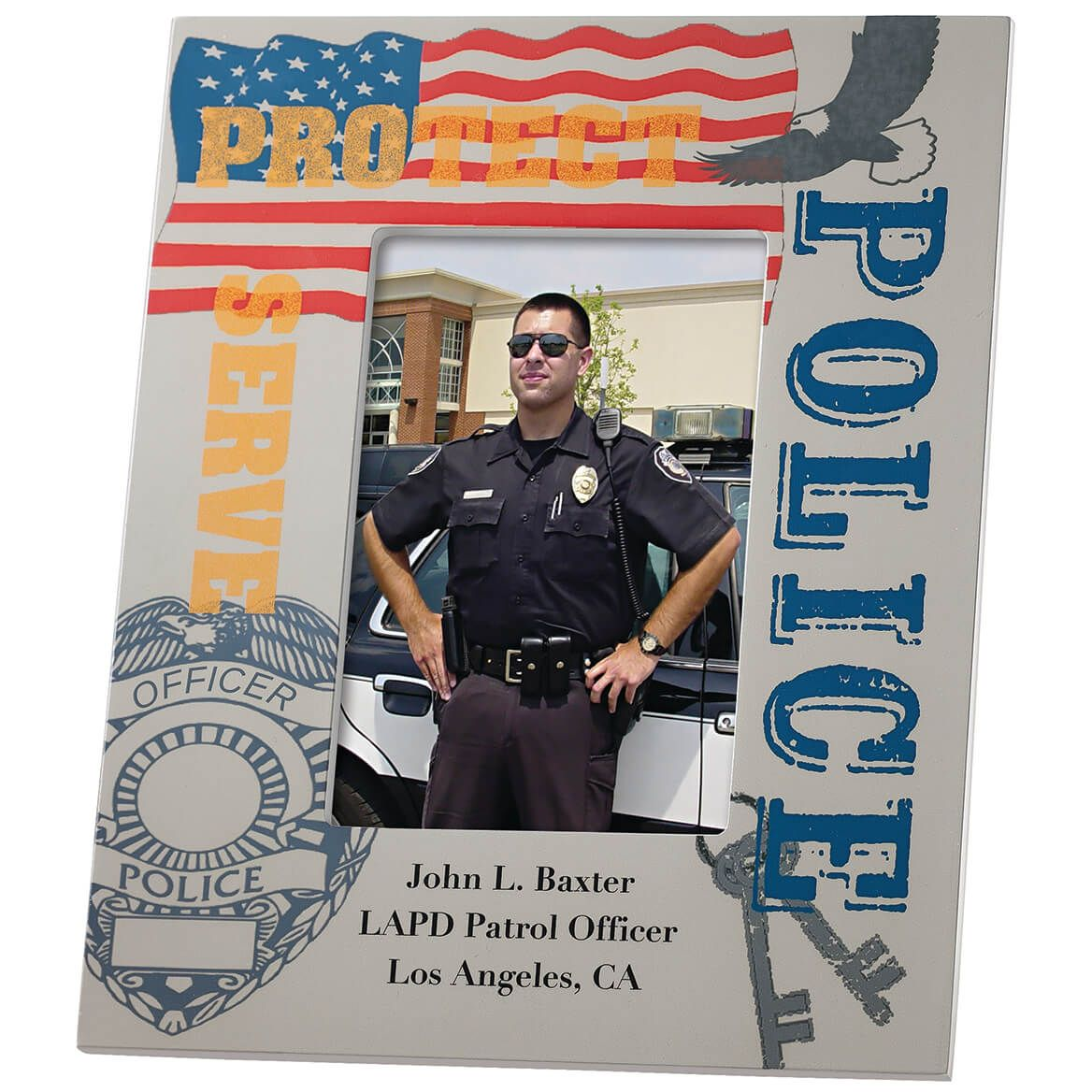 Personalized Police Frame-351319