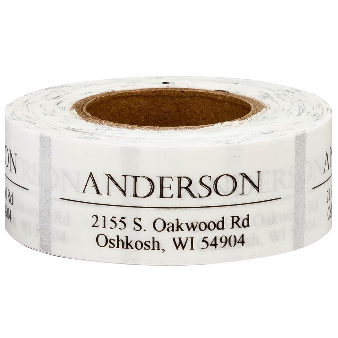 Personalized Bold and Centered Address Labels, 200-351398