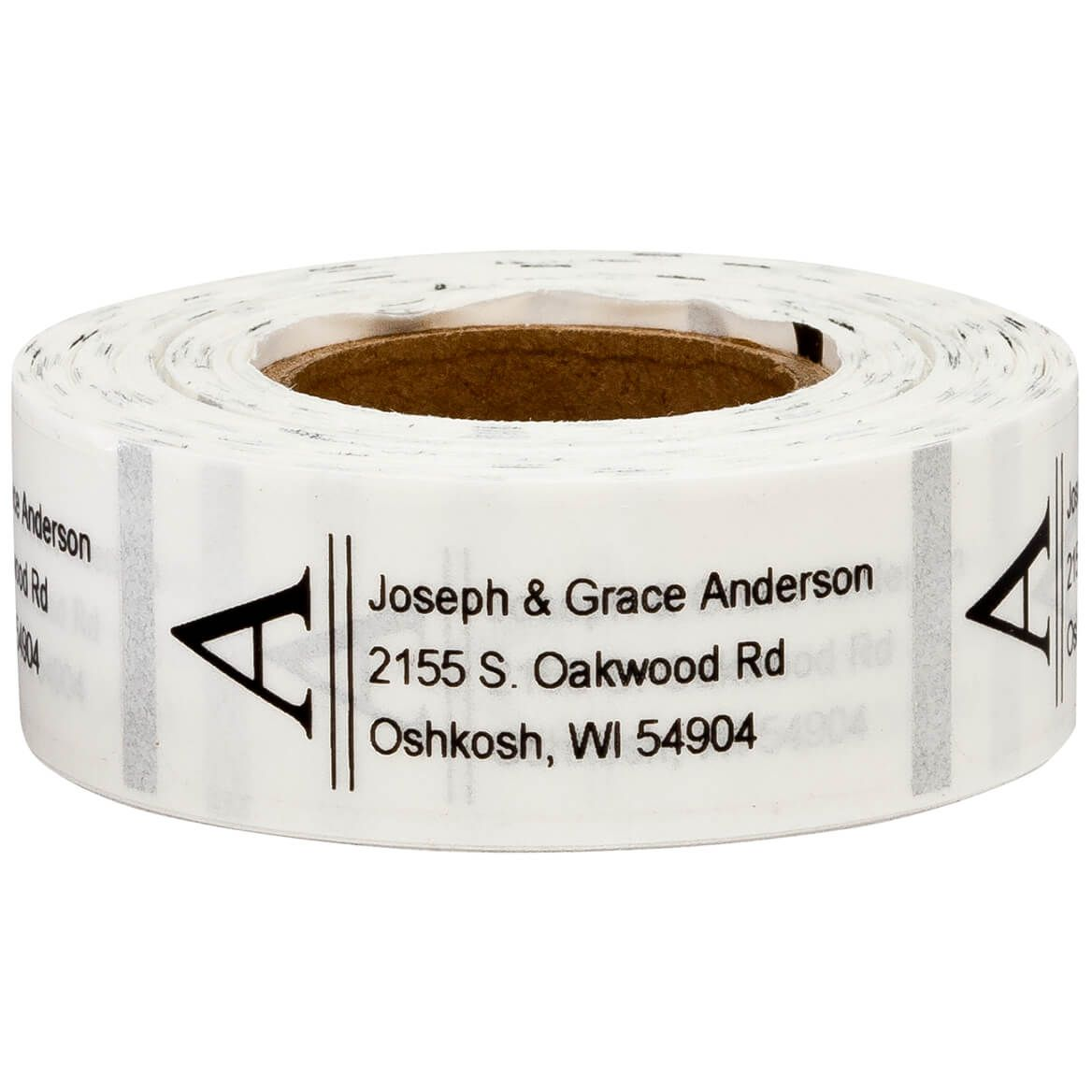 Personalized Bold Initial Address Labels, 200-351401