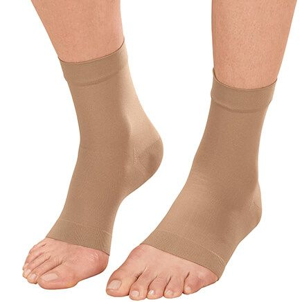 Ankle Compression Sleeves, 1 Pair-351450