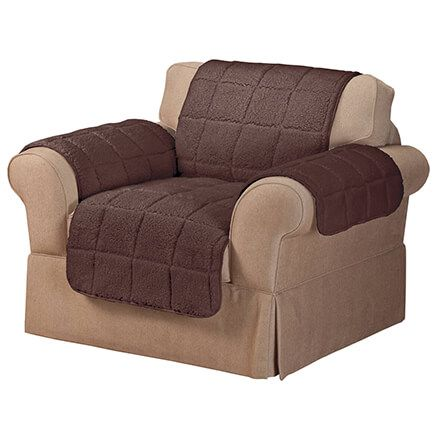 Waterproof Quilted Sherpa Chair Protector by OakRidge™-351694