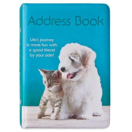 Kitty & Puppy Address Book-351698