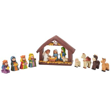 Resin Tabletop Nativity Set-351838