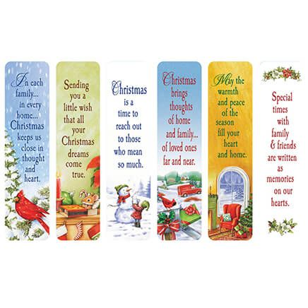 Secular Christmas Bookmarks, Set of 12-351854
